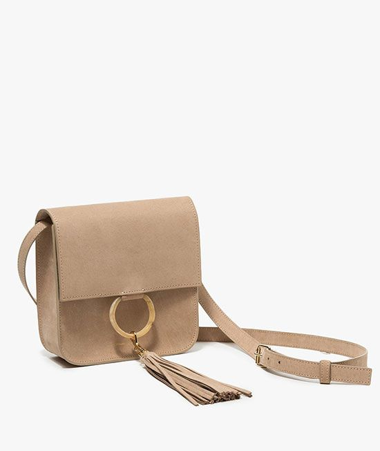 Túi đeo chéo LATA ( Da bò đậm )